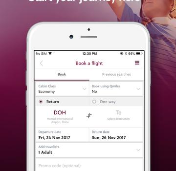 Qatar Airways Ekran Görüntüleri - 2