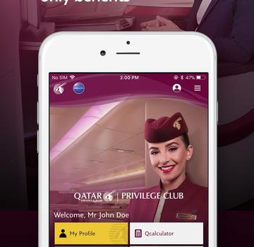 Qatar Airways Ekran Görüntüleri - 3