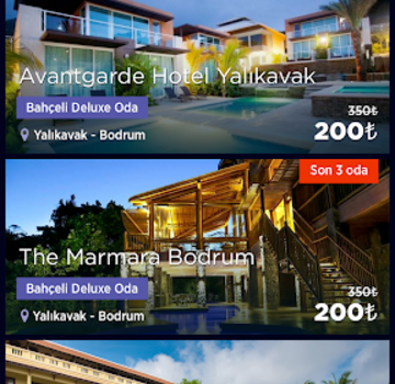 OtelSonDakika Ekran Görüntüleri - 1