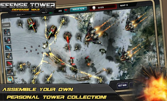 Tower Defense - Defense Zone 1 - 1