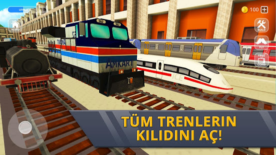 Railway Station Craft Ekran Görüntüleri - 2