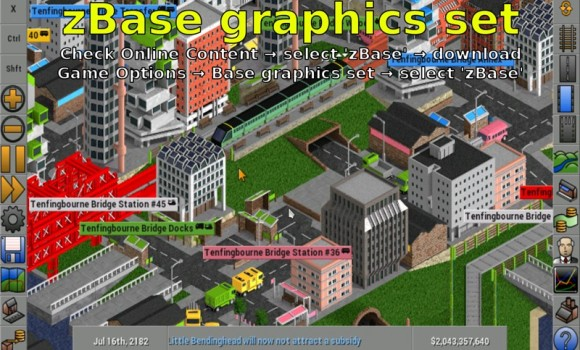 OpenTTD Ekran Görüntüleri - 2
