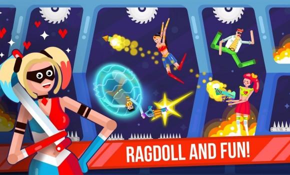 Ragdoll Rage: Heroes Arena Ekran Görüntüleri - 2