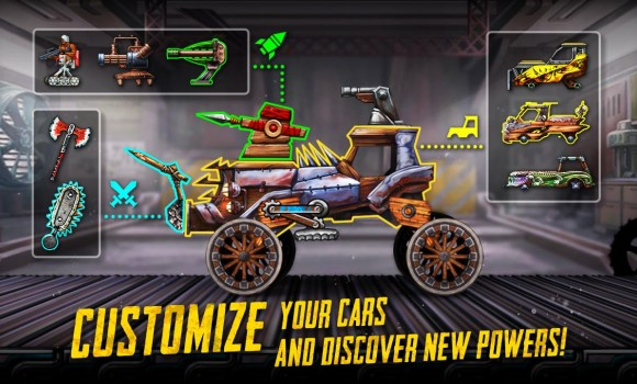 War Cars: Epic Blaze Zone Ekran Görüntüleri - 2