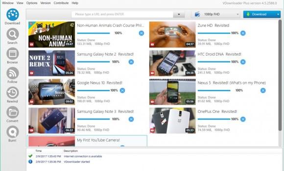 VDownloader Ekran Görüntüleri - 1