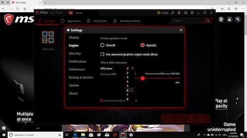 MSI App Player Ekran Görüntüleri - 6