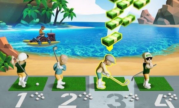 Idle Golf Ekran Görüntüleri - 3