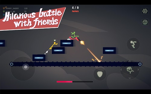 Stick Fight: The Game Mobile Ekran Görüntüleri - 4