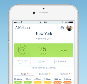 AirVisual Ekran Görüntüleri - 3