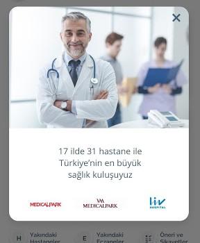 Medical Park Mobil Ekran Görüntüleri - 5
