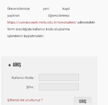 ODTÜ Ekran Görüntüleri - 6