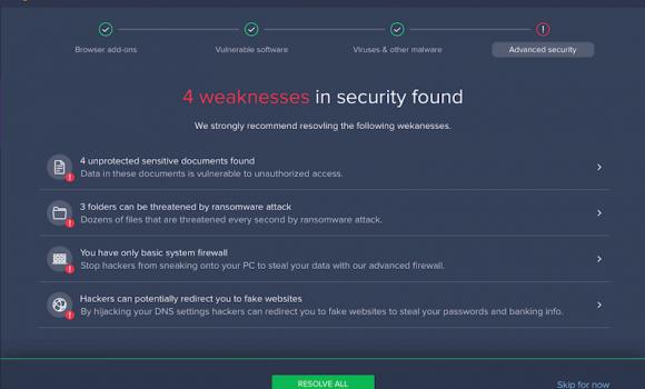 Avast Premium Security Ekran Görüntüleri - 7