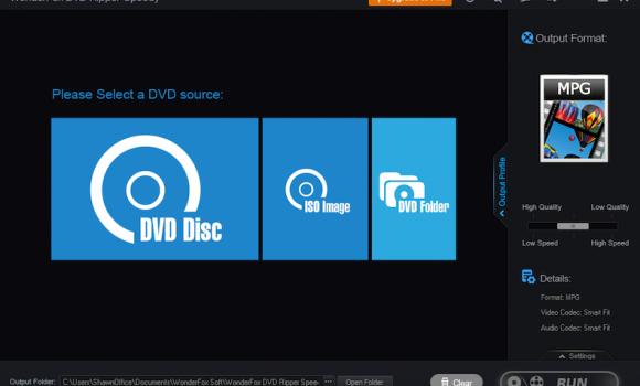 WonderFox DVD Ripper Speedy Ekran Görüntüleri - 1