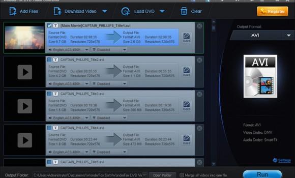 WonderFox DVD Video Converter Ekran Görüntüleri - 1