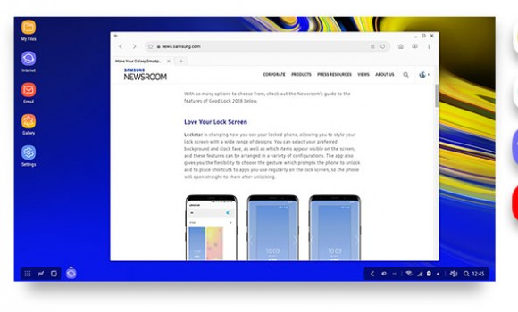 Samsung DeX Ekran Görüntüleri - 3