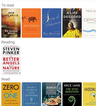 Bookself Ekran Görüntüleri - 1