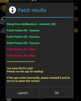 Lucky Patcher (APK) Ekran Görüntüleri - 1
