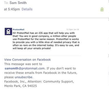 ProtonMail Ekran Görüntüleri - 4