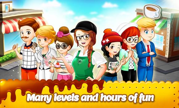 Cafe Panic: Cooking Restaurant Ekran Görüntüleri - 1