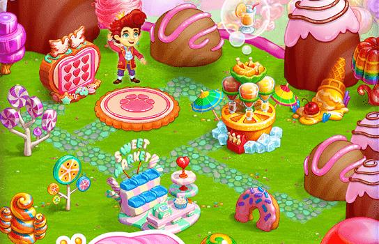 Candy Farm Ekran Görüntüleri - 1