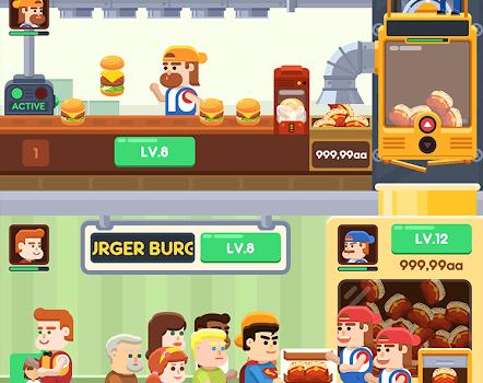 Idle Burger Factory Ekran Görüntüleri - 3