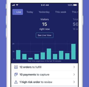 Shopify Ekran Görüntüleri - 1