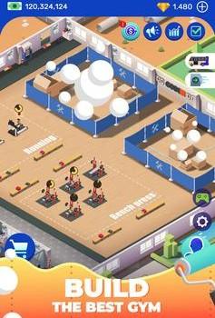 Idle Fitness Gym Tycoon Ekran Görüntüleri - 2