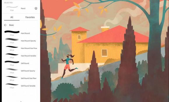 Adobe Fresco Ekran Görüntüleri - 1