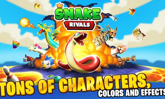 Snake Rivals Ekran Görüntüleri - 2