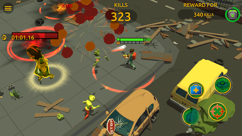 Zombie Blast Crew Ekran Görüntüleri - 7