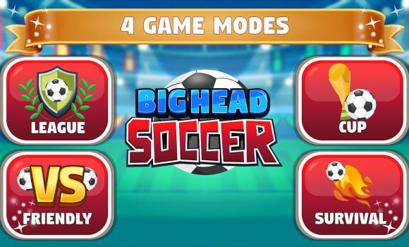 Big Head Soccer Ekran Görüntüleri - 2