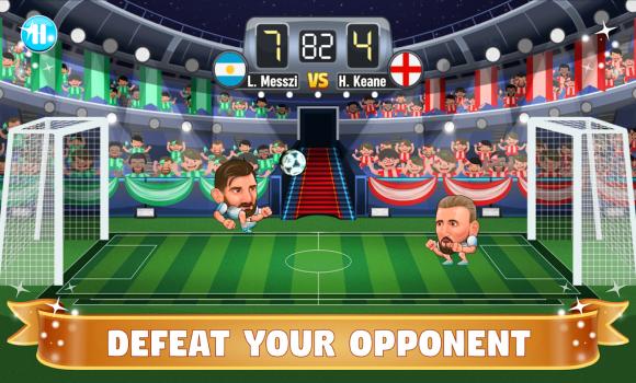Big Head Soccer Ekran Görüntüleri - 1