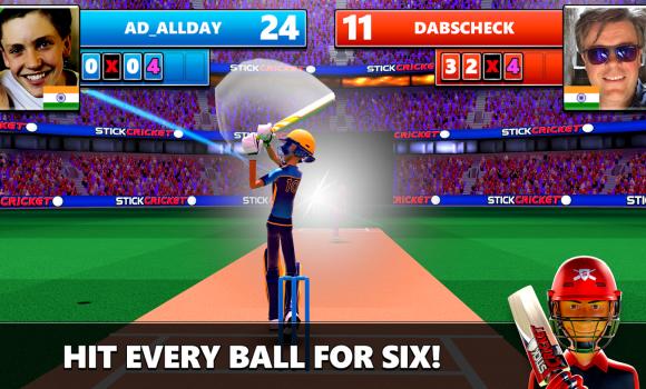 Stick Cricket Live Ekran Görüntüleri - 1