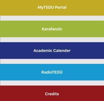 TED Üniversitesi Ekran Görüntüleri - 2
