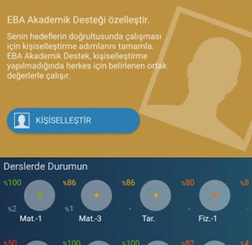 EBA Akademik Destek Ekran Görüntüleri - 5