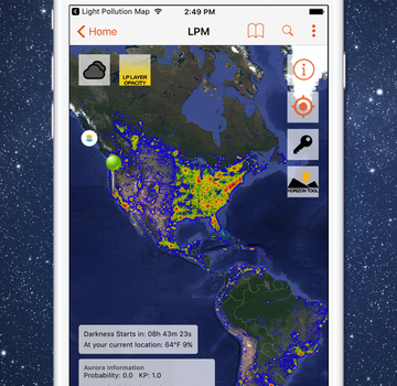 Light Pollution Map Ekran Görüntüleri - 6