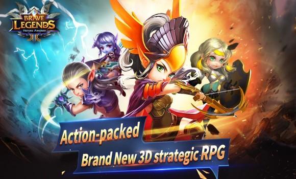 Brave Legends: Heroes Awaken Ekran Görüntüleri - 1