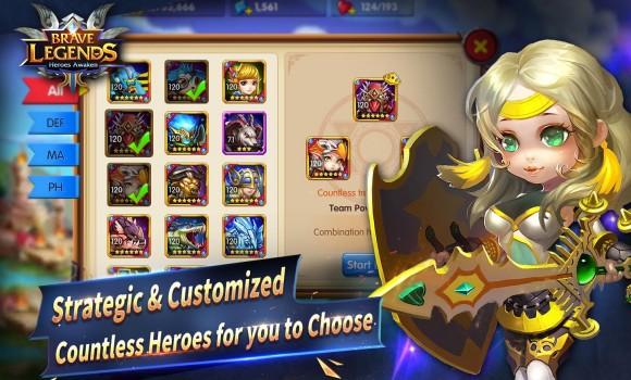 Brave Legends: Heroes Awaken Ekran Görüntüleri - 2