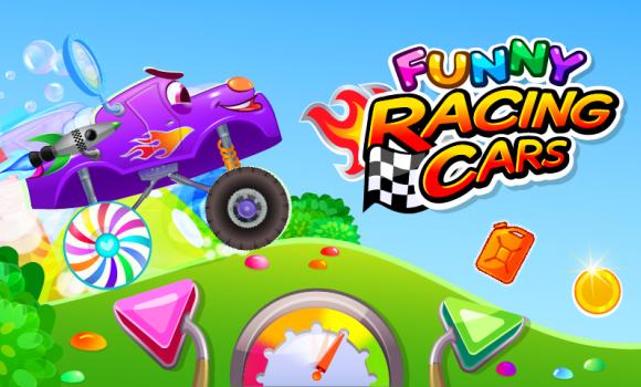 Funny Racing Cars Ekran Görüntüleri - 1