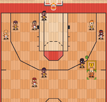 Hoop League Tactics - 1