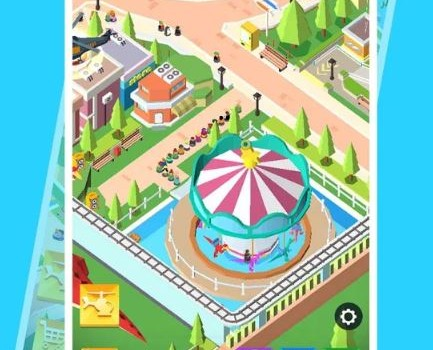 Idle Park Tycoon Ekran Görüntüleri - 1