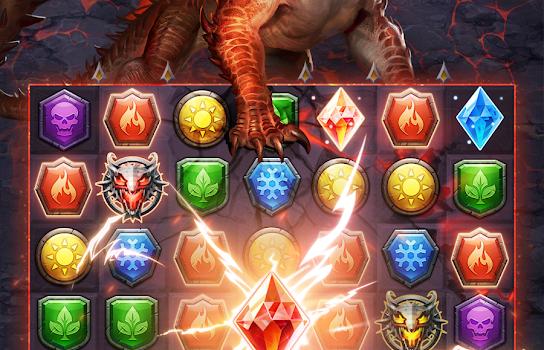 MythWars & Puzzles: RPG Match 3 Ekran Görüntüleri - 3