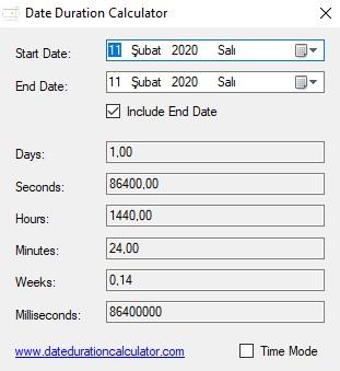 Date Duration Calculator Ekran Görüntüleri - 1