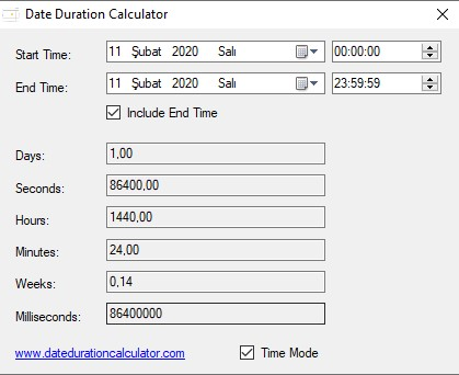 Date Duration Calculator Ekran Görüntüleri - 2