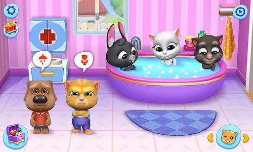 My Talking Tom Friends Ekran Görüntüleri - 3