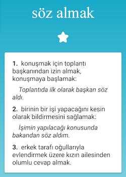 Türkçe Sözlük Ekran Görüntüleri - 4
