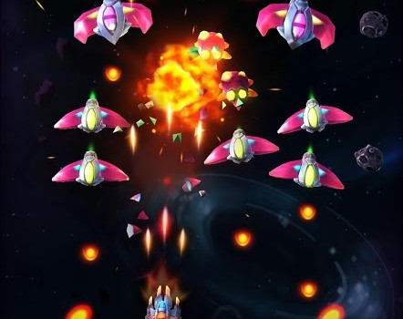 Neonverse Invaders Shoot 'Em Up Ekran Görüntüleri - 2