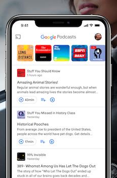 Google Podcasts Ekran Görüntüleri - 1
