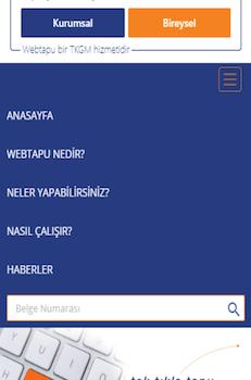 Web Tapu Ekran Görüntüleri - 2
