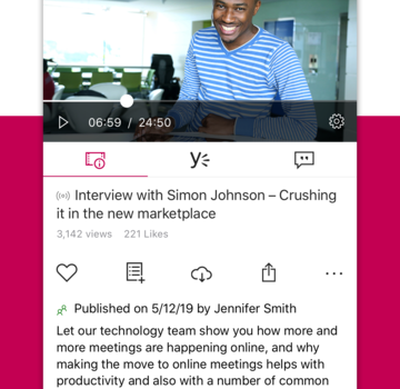 Microsoft Stream Ekran Görüntüleri - 2